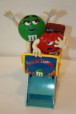 M&M's Wild Thing Roller Coaster Candy Dispenser