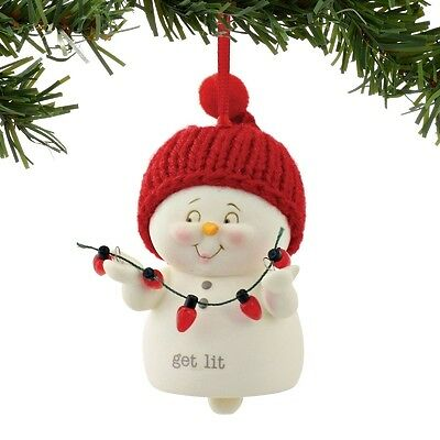 Snowpinions Get Lit Bell Ornament Brand New
