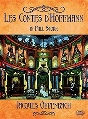 Jacques Offenbach: Les Contes D'Hoffmann In Full Score. Orchestra Sheet Music