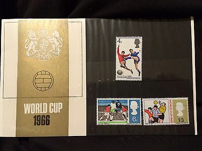 1966 World Cup Presentation Pack. Mint.