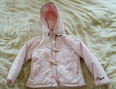 Girls Hooch Pink Jacket 4yrs