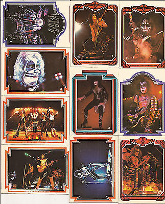 KISS Collector cards