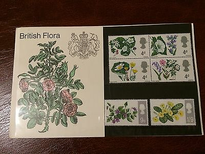 1967 British Flora Presentation Pack. Mint.