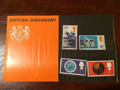 1967 British Discovery Presentation Pack. Mint.