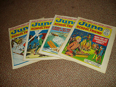 4 June And School Friend Comics Oct-Nov 1970 Where The Heart Is