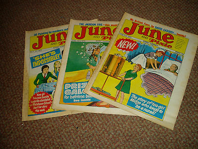 3 June And Pixie Comics June-July 1973 His Guiding Starr