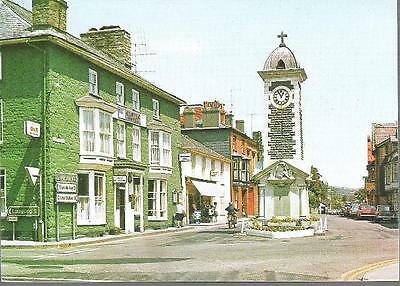 Rhayader, Powys - Clock Tower - Judges postcard c.1970s