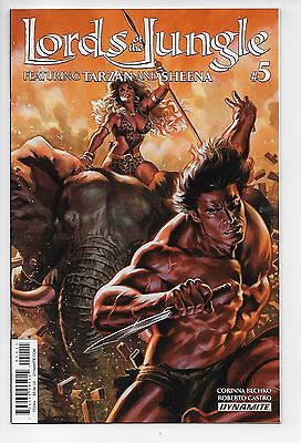 Lords of the Jungle #5 - Cover A (Dynamite, 2016) - New/Unread (NM)