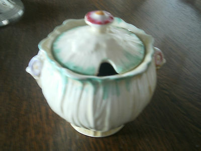 Crown Ducal Sugar Bowl With Lid