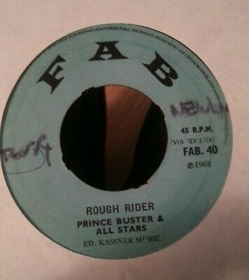 Rough Rider Prince Buster And All Stars Skinhead Reggae Ska Mod Rare