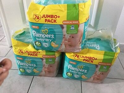 Couche pampers taille 4+
