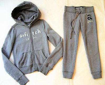 Abercrombie Kids Girls Jogging Suit Hoodie and Bottoms S 5-6-7y