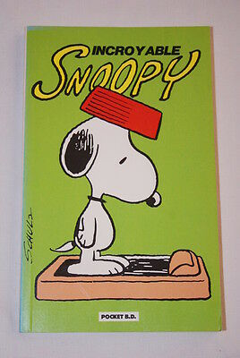 Incroyable  Snoopy Schulz Pocket Bd 1989