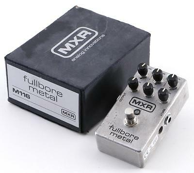 MXR M116 Fullbore Metal Distortion Guitar Effects Pedal PD-0790