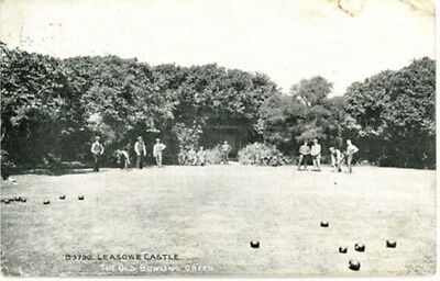 Wirral - Leasowe Castle - The Old Bowling Green - Posted 1913.