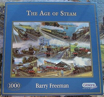 1000 piece jigsaw - The Age Of Steam (Gibsons)