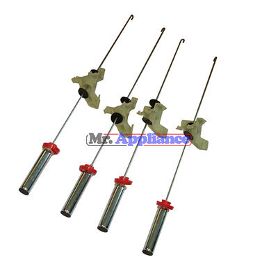424495P Suspension Rods Set x 4 F & P Washing Machine