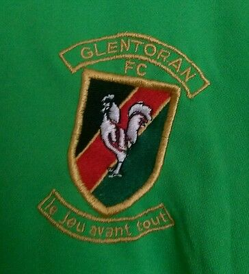 Glentoran Football Club Shirt 2001/2002 Ulster Northern Ireland