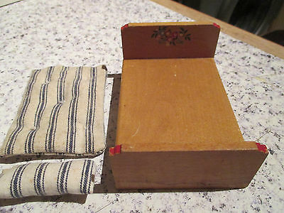 vintage * TWIGGS * BED & MATTRESS - 16th scale