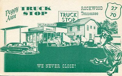 Peggy Ann Truck Stop Hotel And Cafe Rockwood Tn Shell Station