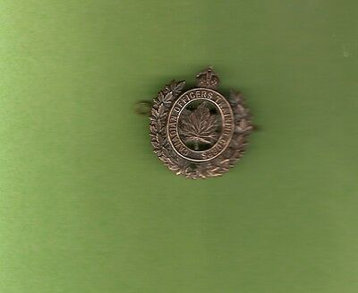 Wwii Officer Training Corps Cap Badge