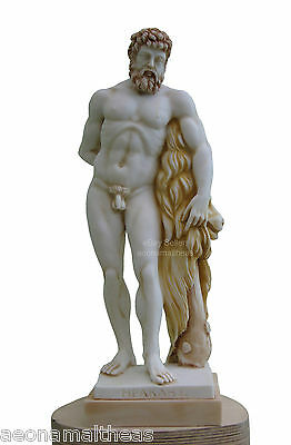 Heracles by Lysippos - (Hercules Farnese in Latin) - Son of Zeus - 40cm