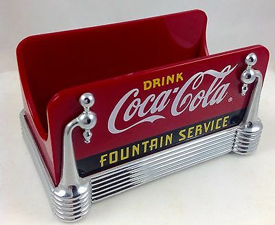 1997 Drink Coca Cola Fountain Service Sugar Packet Holder