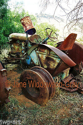 ANTIQUE FARM MACHINERY; FORDSON VINTAGE TRACTOR, WA, 8x12 Giclée Fine Art Print