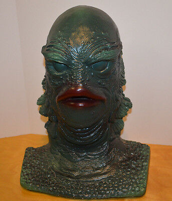 "The Creature From The Black Lagoon Bust Statue 15"" Tall Universal Monsters"