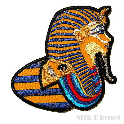 Pharaoh Egypt Pyramid Ancient Egyptian Embroidered Sew Iron On Patch Applique