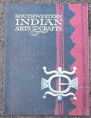 Southwestern Indian Arts and Crafts by Tom Bahti 1977 Illustrated
