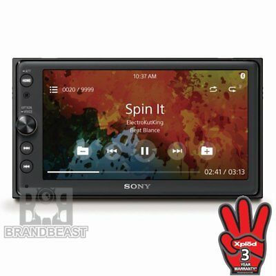 "Sony Xav-ax100 6.4"" Car Media Reciver Apple Carplay Andorid Auto Xavax100 Bt"