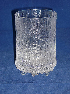 iittala ULTIMA THULE Tapio Wirkkala Large Tall Glass Tumbler Scandinavian Retro