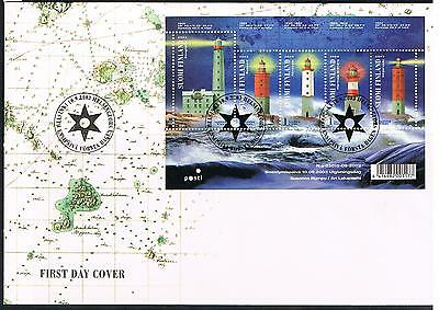 finland 2003 lighthouses FDC