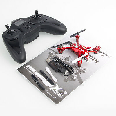 Hubsan H107C X4 2.4G 4CH RC Quadcopter with 0.3 Megapixels Camera Mode 2 Silver