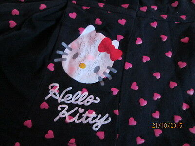 Girls Hello Kitty Top and Skirt age 1-2 year old -Used