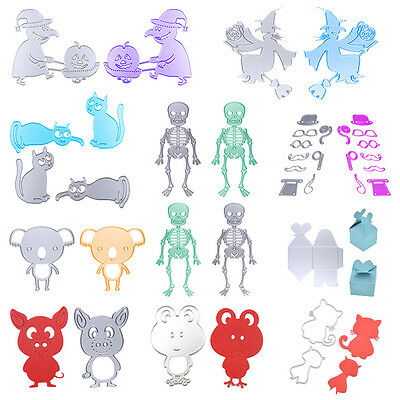 10 Pattern Cutting Dies Stencils For Scrapbooking DIY Album Card Paper Crafts
