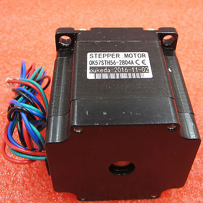 DC 24V Stepper Motor for Nema 23 Single Shaft 12.6Kgcm 1.8Degre 4 Leads 56mm new