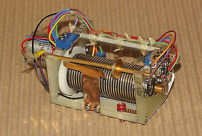 Collins motorised variable inductance roller inductor assembly tuning coil
