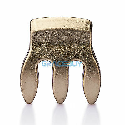 1/8 1/4 1/2 4/4 Violin Fiddle Practice Mute Alloy 3-Prong Violin Viola Mute Gold