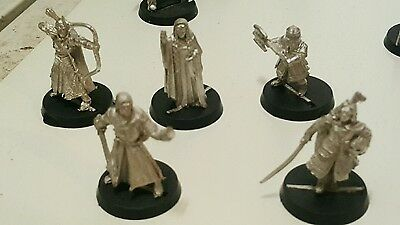 lord of the rings metal miniatures figures lot