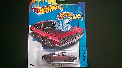 """Camaro """"67 cars hot wheels color shifters changers farbwechsel"""