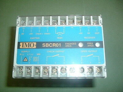 Imo Sbcr01 S...................... Control Optoelectronic Guard Module New Boxed