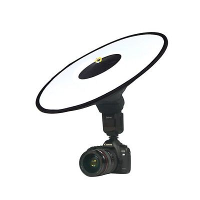 Collapsible Round Ring Dish Diffuser Softbox Reflector For Speedlite Flash
