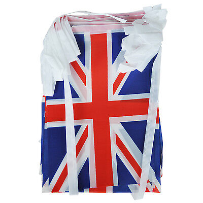 Union Jack Bunting 9 metres/30ft Long with 30 Flags T8