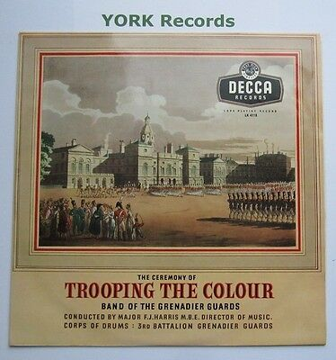 BAND OF THE GRENADIER GUARDS - Trooping The Colour - Ex LP Record Decca LK 4118