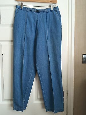by marks and spencer  trouser size 14 blue