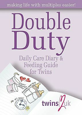 Double Duty - Twins Daily Diary & Feeding Guide