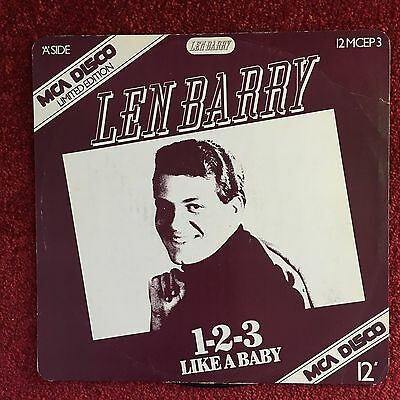 Len Barry 1-2-3 / Like A Baby / I Struck It Rich / It's That Time Of Year -Vinyl