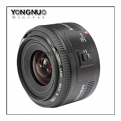 YN35MM F2 wide-angle Large Aperture Auto Focus Lens for Canon EOS Camera Photo